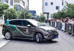 禾多科技在上海展示智能代客泊车系统HoloParking