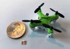 MIT团队研发最新微型无人机导航芯片,耗能仅有普通灯泡的千分之一