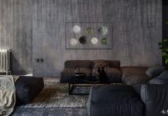 关机美如画 日月星辰家里挂 画壁电视让家里呈现出这样的美景
