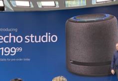 亚马逊发布高端智能扬声器Echo Studio:售199.99美元